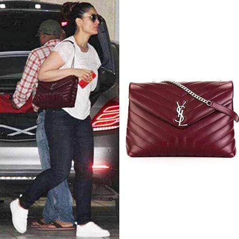 Kareena Kapoor Yves Saint Laurent Handbag