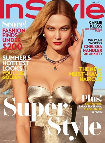 Karlie Kloss, InStyle