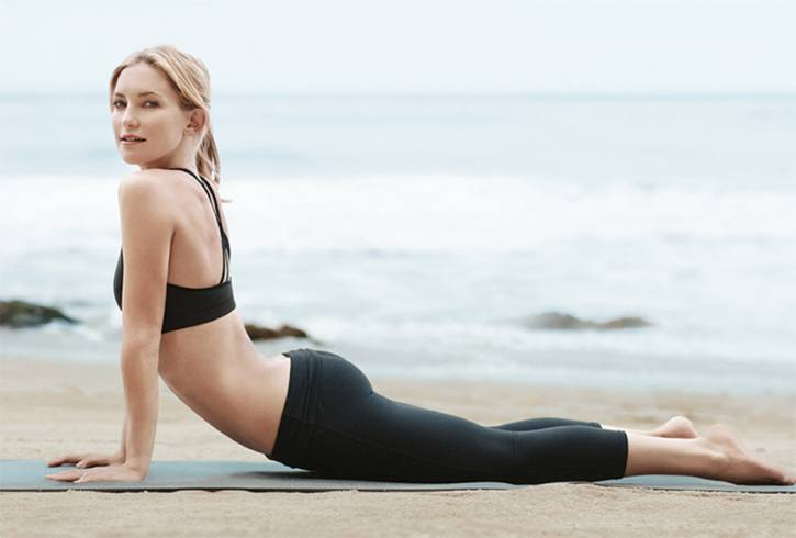 Kate Hudson Pilates Workout
