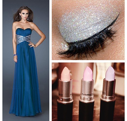 Makeup For Blue Dress Brown Eyes