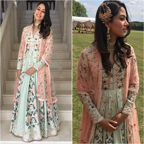 Mira Rajput In AM: PM Fashion