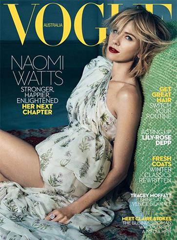 Naomi Watts, Vogue Australia