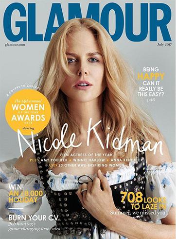 Nicole Kidman for Glamour UK