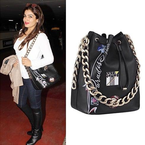 Raveena Tandon Dior Handbag