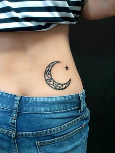 Shooting Star Tattoo Design