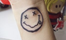Smiley Tattoo