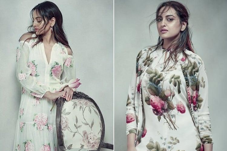 Sonakshi Sinha on Elle June 2017