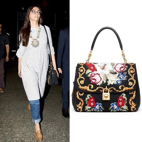 Sonam Kapoor Dolce Gabbana Handbag