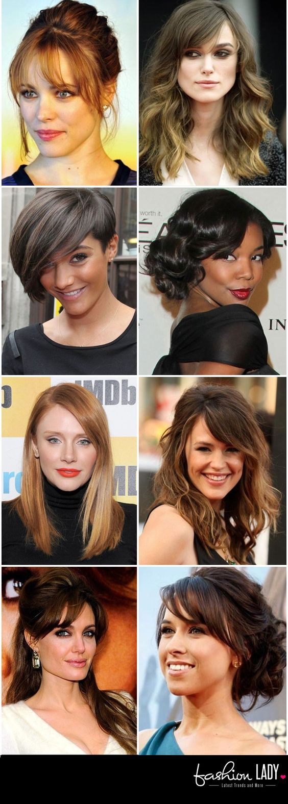 30 amazing hairstyles for big foreheads - tip to hide large forehead