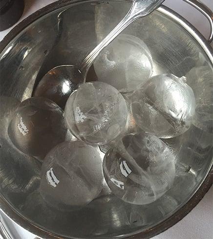 Apply Ice for Chigger Bites