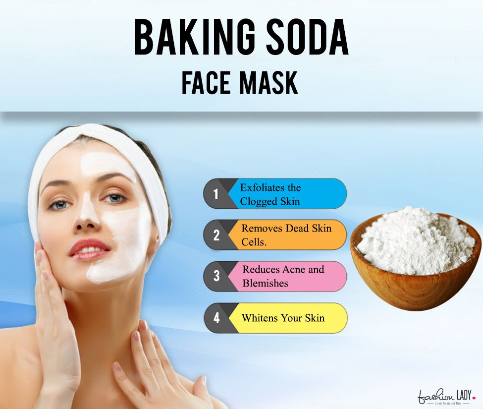 Baking Soda for clogged pores