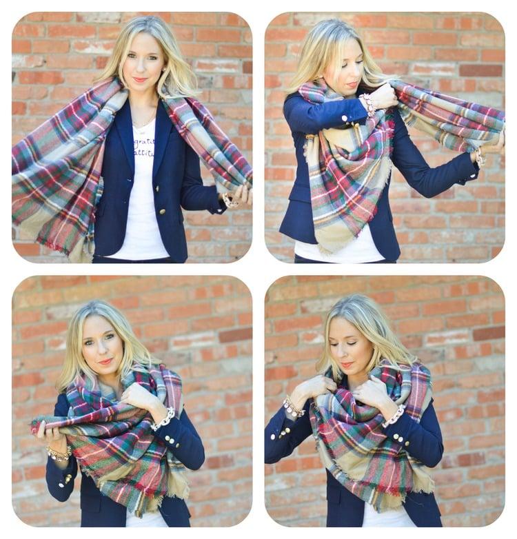 3 Ways to Fold a Wrap foto