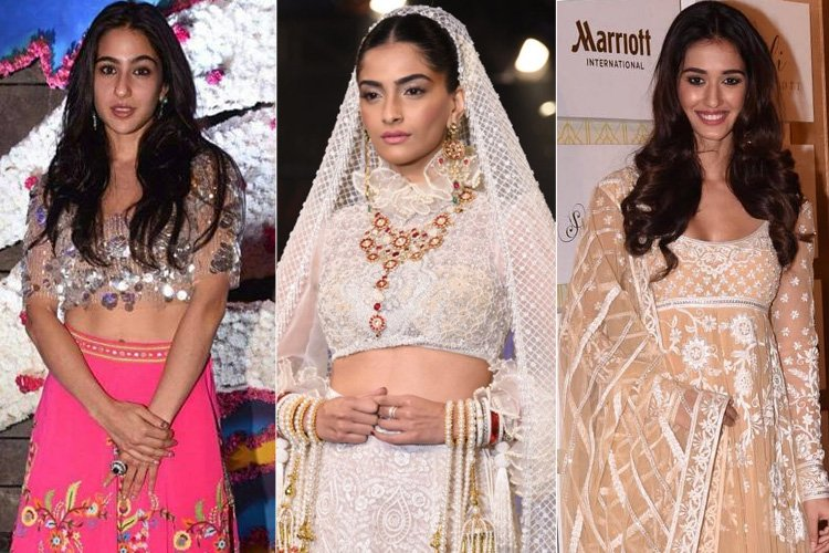 Bollywood at Abu Jani Sandeep Khosla Bridal Fashion Show