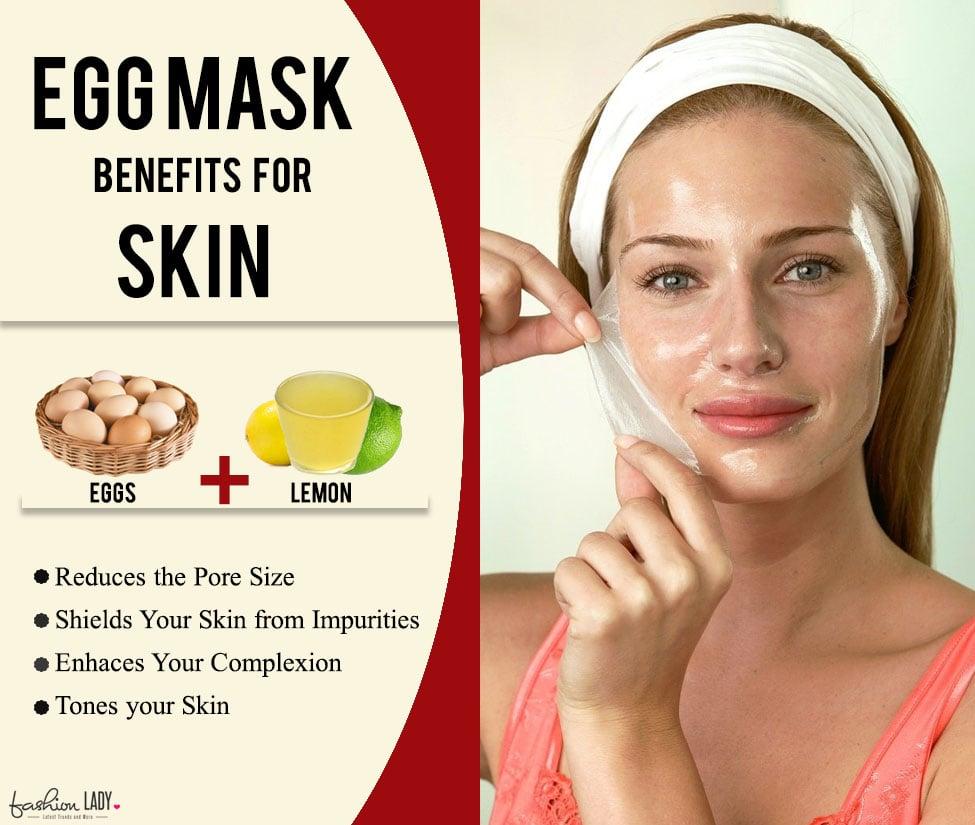 Egg Mask for Skin
