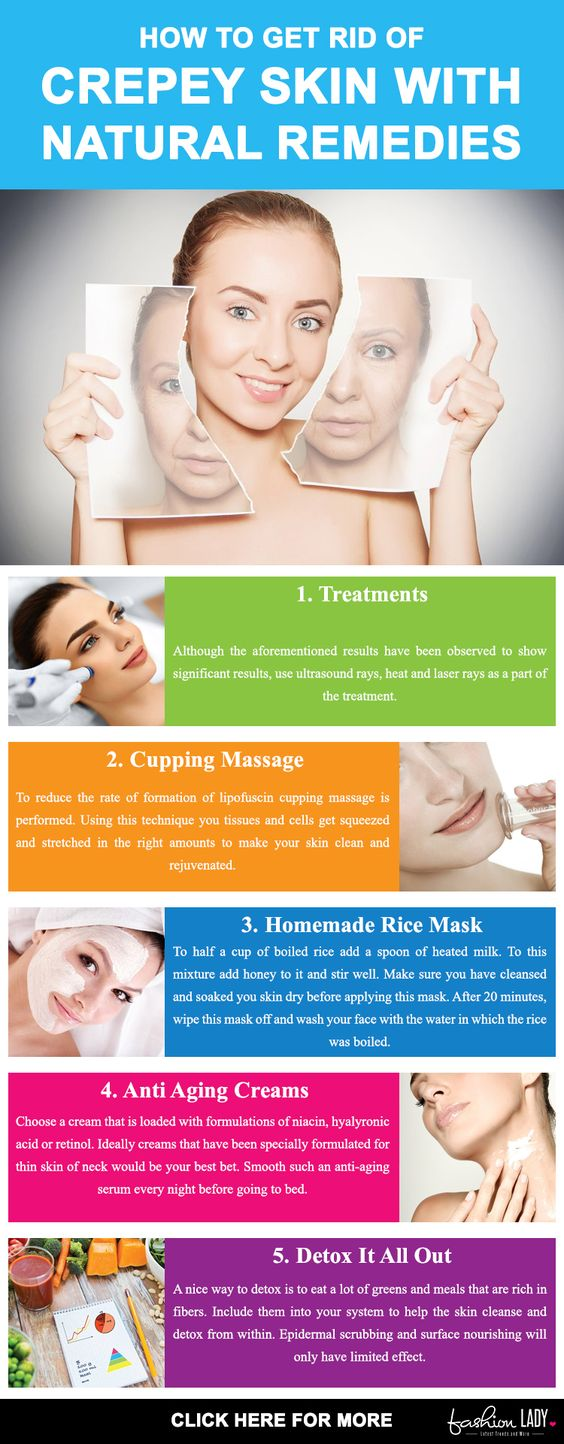 Natural Remedies For Crepey Skin