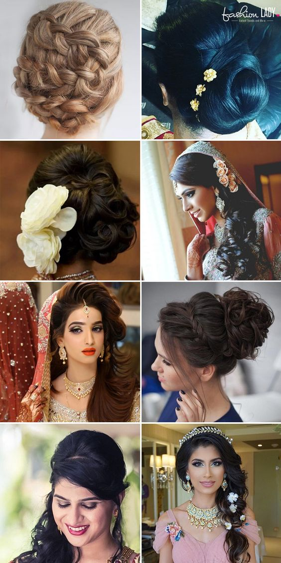 60+ Traditional Indian Bridal Hairstyles For Your Wedding .