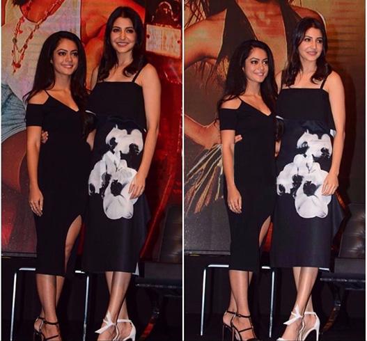 Anushka Sharma and Anya Singh