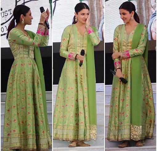Anushka Sharma In Manish Malhotra