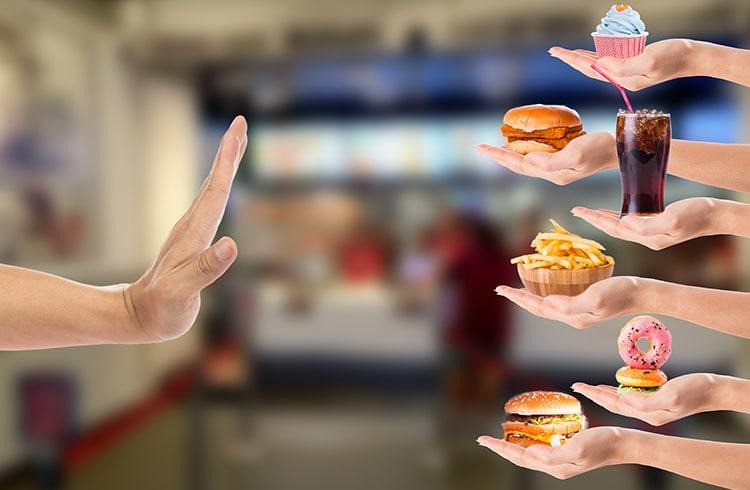 Avoid Fat Food
