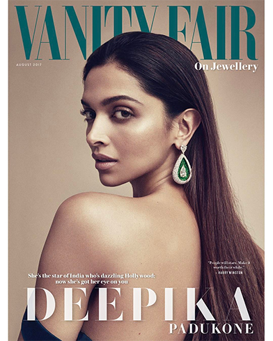 Deepika Padukone on Vanity Fair