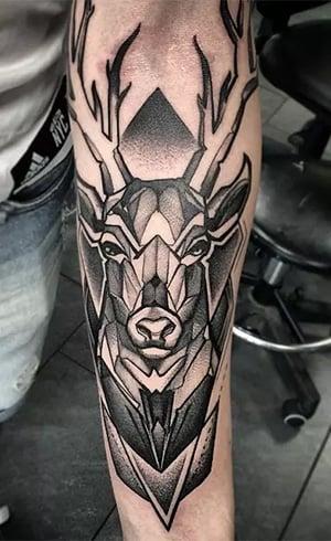 Sacred Geometry Animal Tattoo Designs