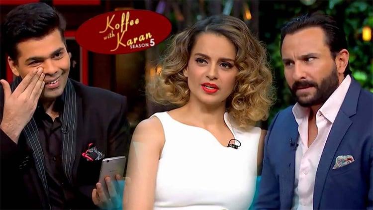 Kangana Ranaut Koffee with Karan