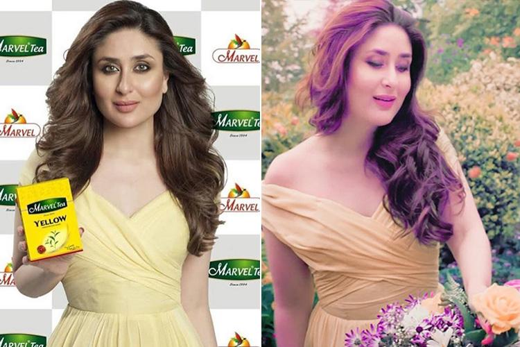 Kareena Kapoor Marvel Tea Ad