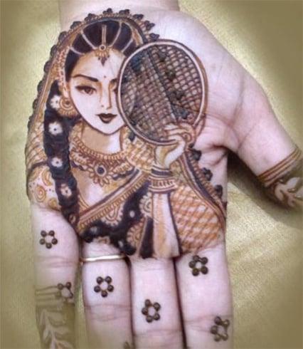 Karva Chauth Ki Mehndi Designs