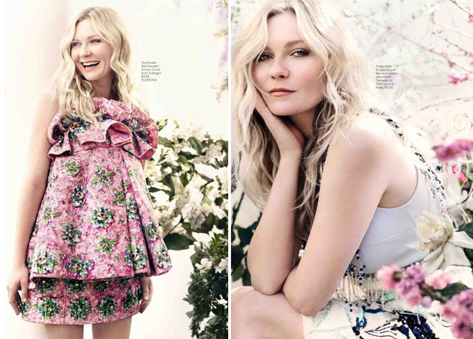 Kirsten Dunst for InStyle Germany