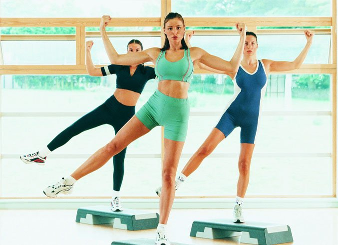 List Of Step Aerobic Moves