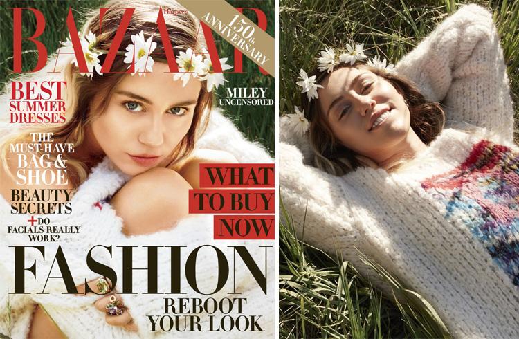 Miley Cyrus for Harper's Bazaar