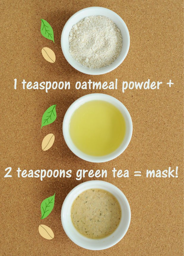 Oats and Green Tea