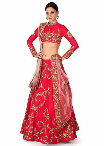 Rani Pink Designer Lehenga