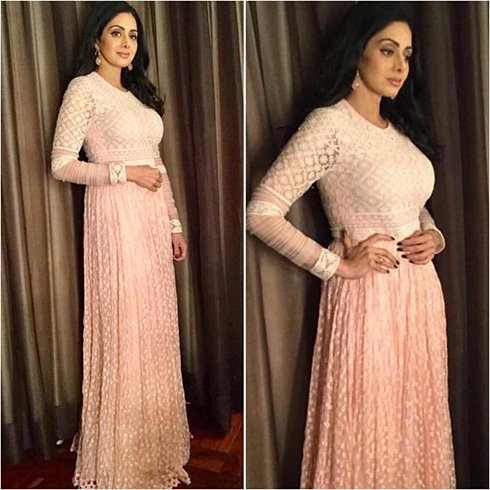Sridevi In Tarun Tahiliani