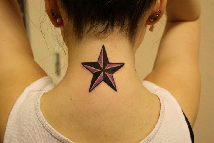 Star Neck Tattoos
