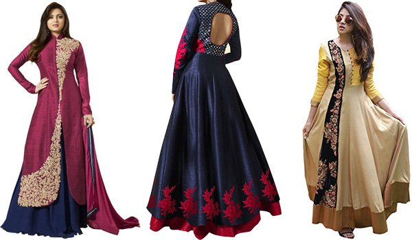 Floor Length Anarkalis