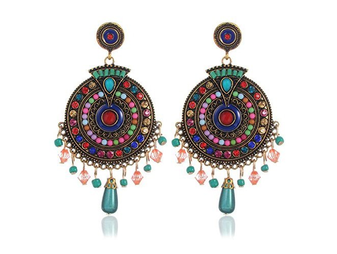 Gold Plated Dangle & Drop Earrings For Girls