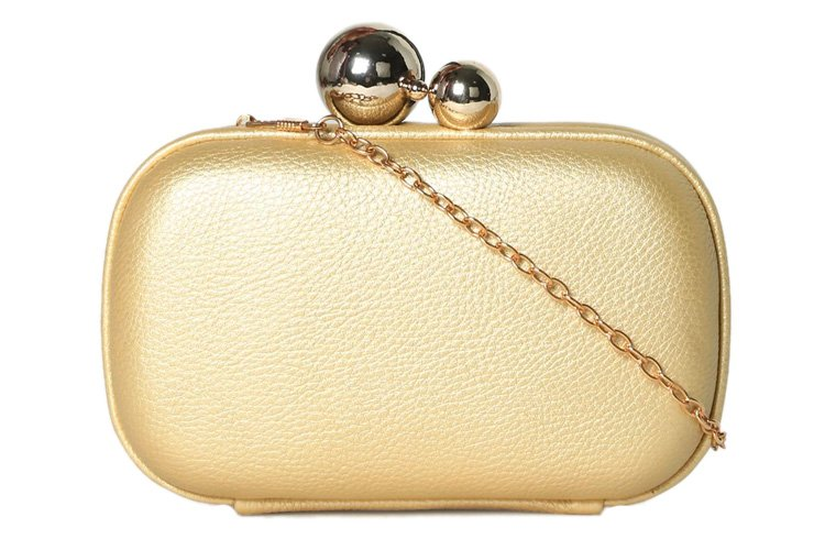 Gold-toned Clutch