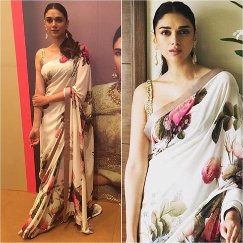 Aditi Rao Vogue Wedding Show 2017