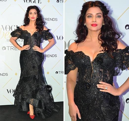 Aishwarya Rai at Vogue Beauty Awards 2017