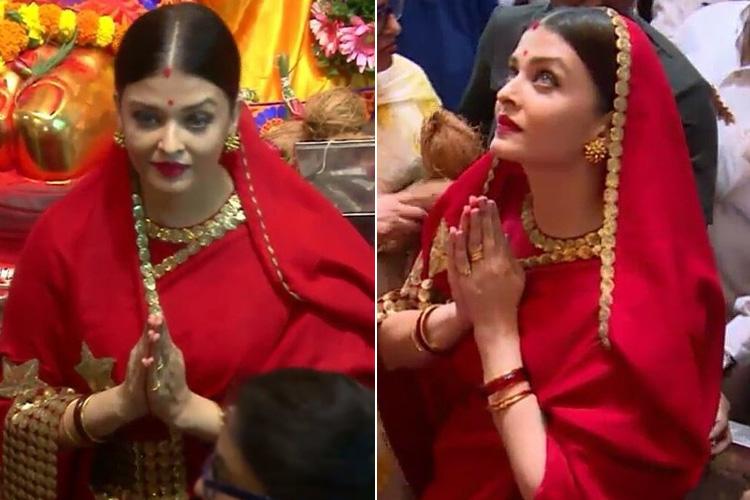 Aishwarya Rai In Sabyasachi