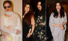 Celebs at Sridevi Birthday Bash