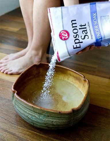 Epsom Salt Treat Toenail Fungus