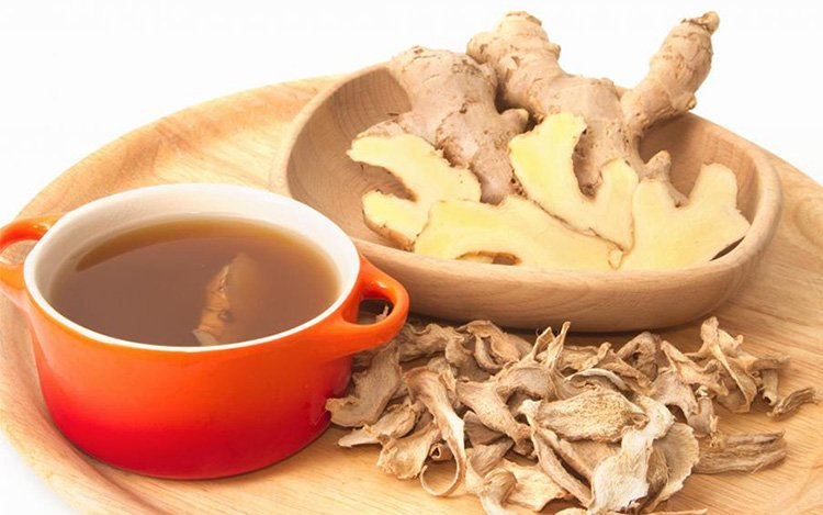 Ginger Tea for Sour Stomach