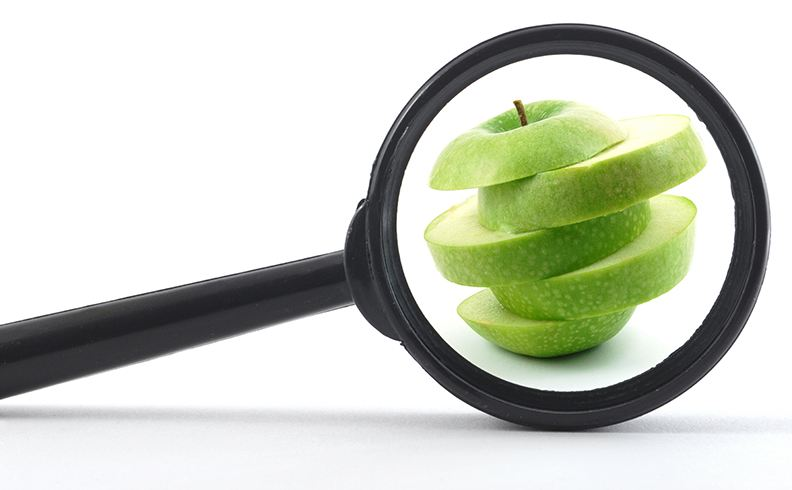 Green Apples Improves Vision