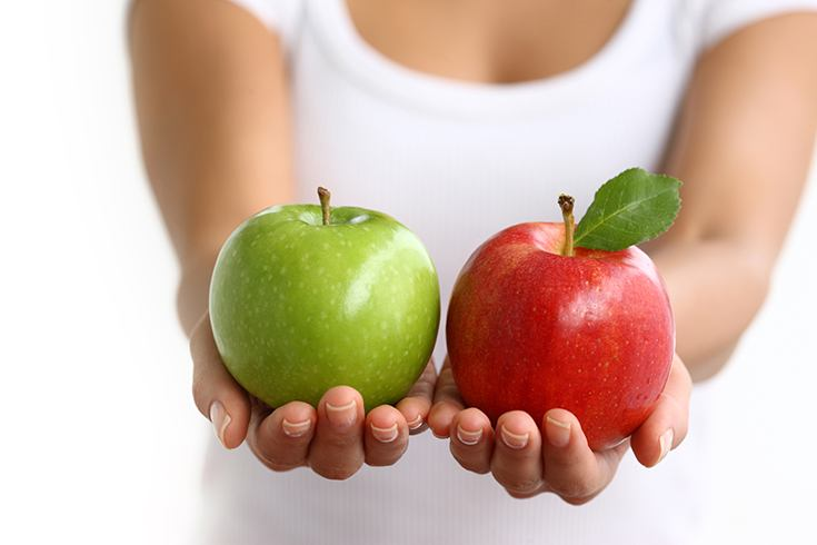 Green Apple vs Red Apple