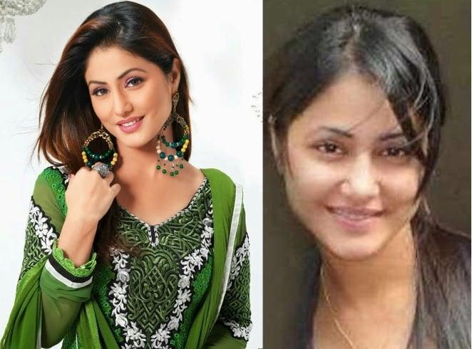 Hina Khan Without Makeup