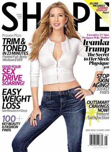 Ivanka Trump On Magazine