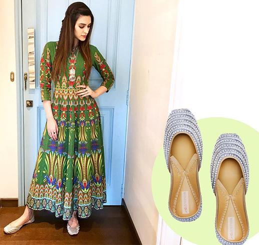 Kriti Sanon Footwear