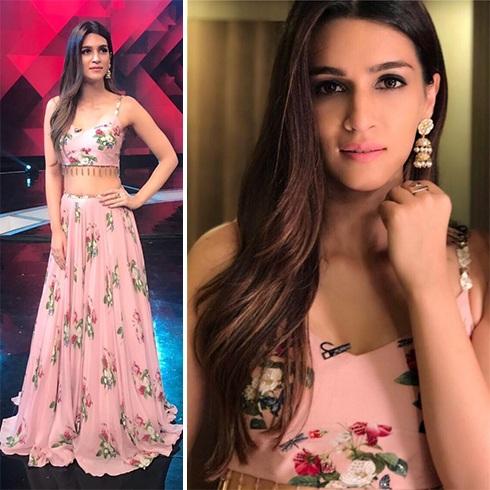 Kriti Sanon in Mahima Mahajan outfit
